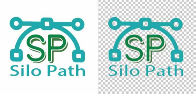 silo-path-vector-logo-design