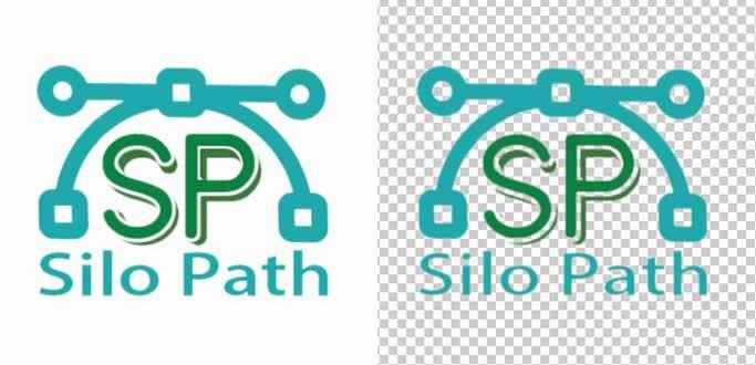 silo-path-vector-logo-design