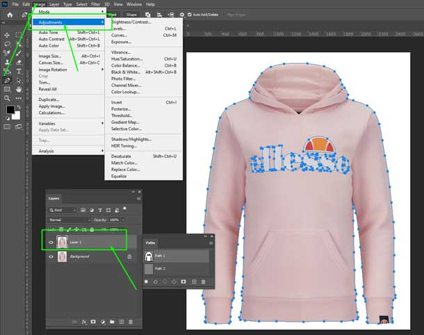 click-adjustment-layer