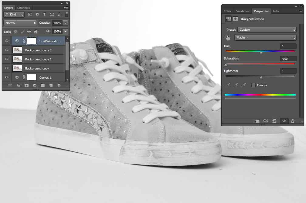 convert-the-image-to-grayscale-using-an-adjustment-layer