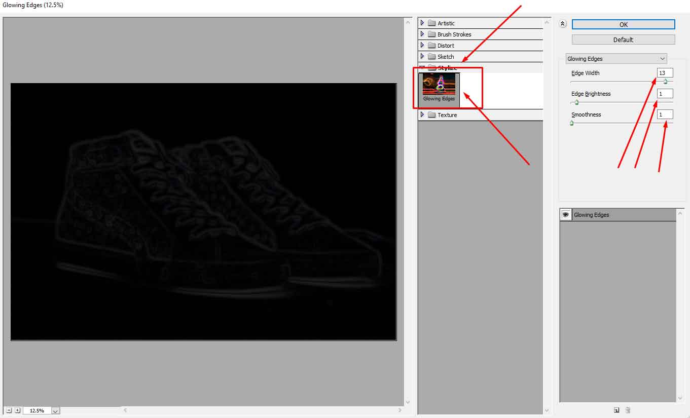 how-to-create-the-strokes-of-your-line-drawing-thicker-in-Photoshop