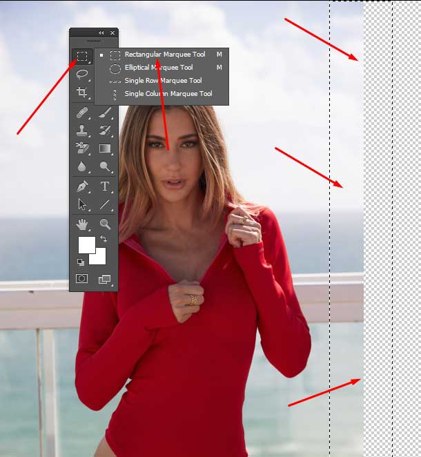 expanding-your-canvas-size-select-the-Marquee-Tool
