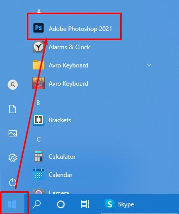open-your-adobe-photoshop-cc-software